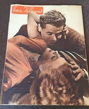 Revue PARIS HOLLYWOOD 1946 Véronica LAKe Glenn FORD RITA HAYWORTH mode coiffures