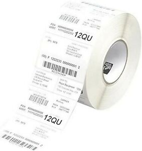 Zebra Z Ultimate 3000t, 4240 Labels, 76 mm, Box of 8, 2580 Labels, 25