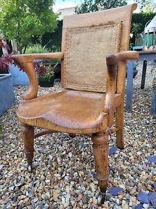 A Fantastic Victorian Heals Oak Office Chair Deconstructed Chair