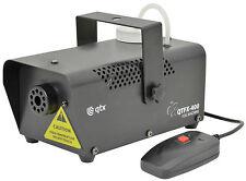 QTFX-400 Disco Fog Smoke Mist Mobile DJ Machine with Remote Control Black New