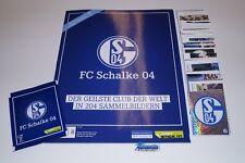 FC SCHALKE 04 EUROFIGHTER - Komplettset + Album + Tüte - kein PANINI