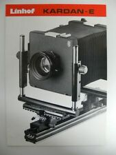 Anleitung Linhof Kamera