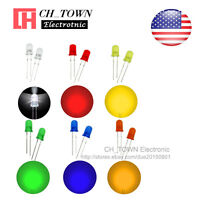 6 Lights 600pcs 5mm LED Diodes Diffused White Red Yellow Blue Green Mix Kits