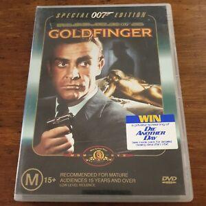 Goldfinger 007 James Bond DVD R4 VERY GOOD - FREE POST