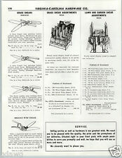 1956 PAPER AD Wiss Grass Shear Shears Store Display Stand Counter Assortmant