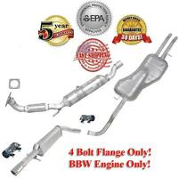 Honda Civic 02-04 1.7L Coupe Rear Extension Pipe with Resonator and Rear Muffler