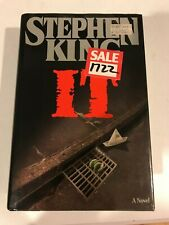 IT Stephen King Hardcover Dust Jacket 1986 Viking FIRST 1st edition print book