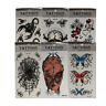 12 Bögen mit  Einmal Tattoos Temporary Tattoo Body Sticker Tattoo wasserfest