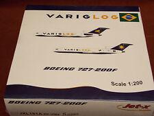 Dragon Jet-x JXL181A PP-VQU VarigLog Boeing 727-200F 1:200 Model Plane