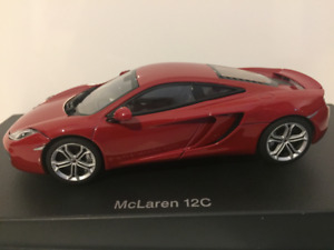 Autoart 56008 McLaren 12c Red Metallic 2011 1:43 Scale New