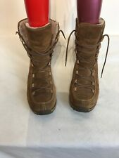 Timberland 69319 Ladies Tan Leather Mid Calf Lace Up Boots Uk 7.5w Ref My01