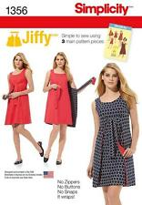 SIMPLICITY SEWING PATTERN VINTAGE 1970s JIFFY REVERSIBLE WRAP DRESS 6 - 22 1356