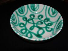 Gmundner Keramik  Schale rund Dm.17 cm  grün geflammt