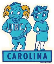North Carolina  University - Tarheels  coed Vintage Looking Travel Decal Sticker