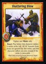 Warlord CCG - Warlord Saga of the Storm: Shattering Blow (Rare Action DOM )