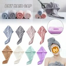 Rapid Fast Drying Hair Absorbent Towel Cap Soft Thick Shower Hat Hair Direr @I