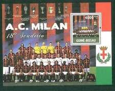 FOOTBALL - GUINEA BISSAU - 2011 SOUVENIR  SHEET :  MILAN