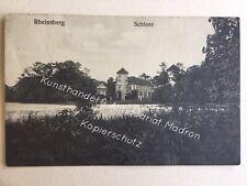 AK Rheinsberg, Blick zum Schloss