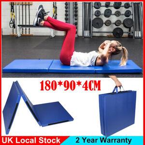 Thick Exercise Gym Mat Folding Gymnastics Exercise Mat Yoga Mats Double Handles