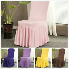 Universal Elastic Spandex Dining Chair Cover Wedding Banquet Seat Protector Home
