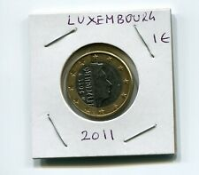 2011 1€  1-€ LUXEMBOURG (LUXEMBURG) LETZEBUERG ONE Euro Circulated coin