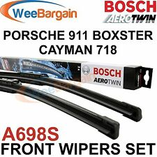 PORSCHE 911 BOXSTER CAYMAN Genuine BOSCH A698S Aerotwin Front Wiper Blades Set