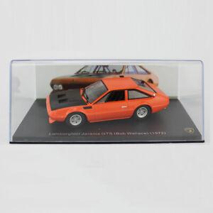 Vintage Lamborghini Jarama GTS 1972 1/43 Model Car Diecast Gift Toy Vehicle Kids