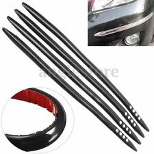 4Pcs 405MM Universal Car Auto Truck Body Bumper Guard Front Rear Protector Strip
