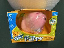 """ZHU ZHU PETS Puppies """"Loolah"""" 2/25 NEW IN BOX Pink Puppy w Brush NEW"""