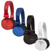 Cascos con Micrófono, Plegable, Tamaño Ajustable, Cable Desmontable, Con. 3.5mm