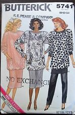 Butterick sewing pattern no. 5741 Ladies suit with pants size 8,10,12 Uncut