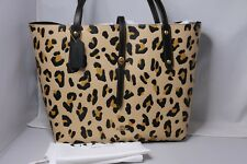 COACH Market Tote with Leopard Print Bag - 32729