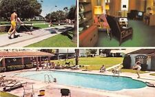 Phoenix Arizona~Biltwel Furnished Resort Apartments~Shuffleboard~Pool~1983 PC
