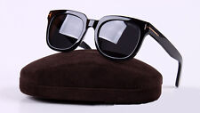 2017 New Arrival Tom Ford Square Sunglasses TF211 Black Eyewear With Case
