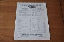Philips NG5157A Record Player Workshop service manual NG 5157 A