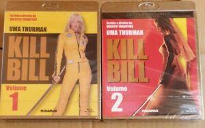 KILL BILL 1+ KILL BILL 2(2 BLU RAY) UMA THURMAN NUOVI SIGILLATI