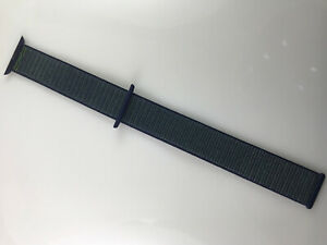 Original Apple Watch Series 6 5 4 SE NIKE Sport loop Band 42mm 44mm Midnight Fog