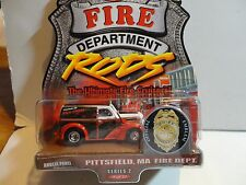 Hot Wheels Fire Rods Pittsfield, Ma. Anglia Panel Truck w/Real Rider Wheels
