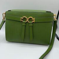KATE SPADE NY the Touhours Medium Pebble Green Leather Crossbody Bag