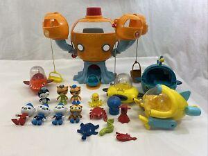 Octonauts Toy Lot Figures Vehicles Submarine Sea Creatures Lot **FREE SHIPPING**