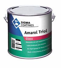 SIGMA Amarol Triol gloss 2,5 Liter weiss  glänzendes Ein-Topf-System