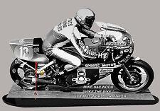 MOTO MINIATURE, MIKE HAILWOOD, HONDA, MOTO GP EN HORLOGE, 02