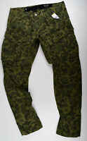 G-STAR RAW, Rovic Qane 3D Tapered, Cargohose Jeans Camouflage W36 L34