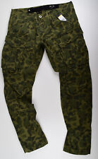 G-STAR RAW, Rovic Qane 3D Tapered, Cargohose Jeans Camouflage W33 L32