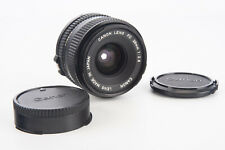 Canon FD 28mm f/2.8 MF Wide Angle Lens with Both Original Caps V06
