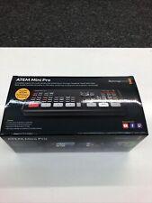 Blackmagic Atem Mini Pro Live Streaming Swithcer