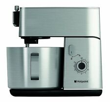 Hotpoint Stand Mixer Multi-Functional Kitchen Machine in Silver Stainless Steel