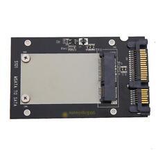 "mSATA SSD to 2.5"" SATA Convertor Adapter Card SSD Enclosure Case"