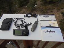 Garmin GPS V Personal navigation device W/ Extras Keyspan