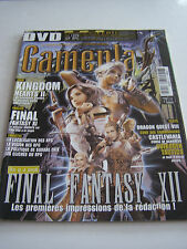 MAGAZINE GAMEPLAY , PLAYSTATION 2 ET 3  , XBOX , GAMECUBE , PORTABLES , PC .